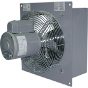 Shutter Mount Wall Exhaust Fan