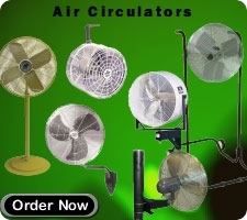 Air Circulators Pedestal Fans Spot Cooling Oscillating Fan Warehouse Fan Wall Mount Fan Ceiling Mount Fan