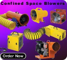 Confined Space Blower Fresh Air Blowers Portable Blowers Axial Blower Centrifugal Blower