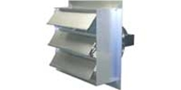 "(Single/Variable Speed) Heavy Duty Direct Drive Wall Exhaust Fan CFM Range: 1350 - 5500 (Sizes 12"" thru 24"")"