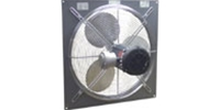 "Explosion Proof (Single Speed) Direct Drive Wall Exhaust Fan CFM Range: 1,670-5,520 (Sizes 12"" thru 24"")"