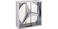 "(Single Speed)Direct Drive Heavy Duty Agricultural Wall Exhaust Fan CFM Range:10,740-18,800 (Sizes 36"" thru 48"")"