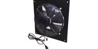 "XFS Series Commercial Direct Drive Wall Exhaust Fan CFM Range: 800-4700 (Sizes 12"" thru 24"")"