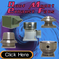 Roof Mount Exhaust Fans