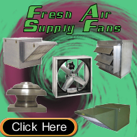 Fresh Air Supply Fans