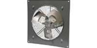 "(Single/Variable Speed) Panel Mount Direct Drive Wall Exhaust Fan CFM Range: 1650 - 5500 (Sizes 12"" thru 24"")"
