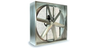 "(Single Speed) Belt Drive Heavy Duty Agricultural Wall Exhaust Fan CFM Range:10,380-23,800 (Sizes 36"" thru 48"")"