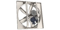 "(Single Speed) Belt Drive Wall Exhaust or Intake Fan CFM Range: 5,331 - 40,855 (Sizes 24"" thru 60"")"