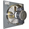 "(Single Speed-Low Noise) Panel Mount Direct Drive Wall Supply Fan CFM Range: 1,450-4,040 (Sizes 12"" thru 24"")"