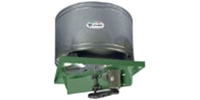 RB Belt Drive Propeller Upblast Roof Exhaust Fan Industrial/Commercial Gen. Applic. CFM Range: 6,261-61,562
