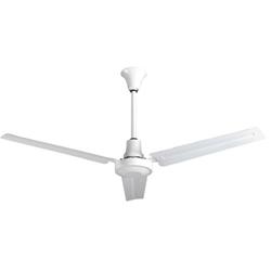 Heavy duty ul listed industrial reversible ceiling fans ves model indb56mr4lp white heavy duty industrial variable speed ceiling fan 56 reversible 28000 cfm 5 year warranty 120v aloadofball Gallery