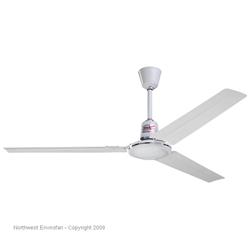 Envirofan brand variable speed commercial ceiling fans northwest envirofan model 60c 9 white commercial variable speed ceiling fan 56 reversible 27500 cfm 3 yr warranty 120v aloadofball Gallery