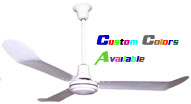 "Model #L-336-W Industrial Ceiling Fan (36"" Reversible, 12,000 CFM, 7 Yr Warranty, 120V) $123.75"