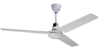 "Northwest Envirofan Model #160C-7 White Industrial Variable Speed Ceiling Fan (56"" Reversible, 34,500 CFM, 5 Yr Warranty, 120V)"