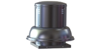 Soler & Palau USA brand Size 6-16 SDB Belt Drive Centrifugal Downblast Roof Exhaust Fan Gen. Application CFM Range: 300-4,135