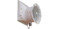 "VES brand Model AFR (Single/Variable Speed) Fiberglass Direct Drive Industrial and Agricultural Wall Exhaust Fan CFM Range: 1,600-11,700 (Sizes 12"" thru 36"")"