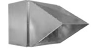 Optional Rainhood for Soler & Palau brand LCE Exhaust Fans