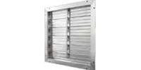 "J&D Manufacturing brand Gravity Operated Aluminum Shutter (12"" to 75"")"