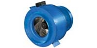"VENTS-US brand Model VKM - High Powered Inline Centrifugal Metal Fan CFM Range: 174-3,096 (4""- 18"" Dia.) 5 Year Warranty"
