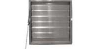 "Canarm Ltd. brand Fresh Air Drainable Manual Chain Operated (Adjustable) Wall Louver (From 12"" up to 60"")"