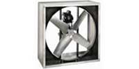 "Triangle Engineering of Arkansas Model VI Belt Drive Heavy Duty Industrial Explosion Proof Wall Exhaust Fan CFM Range: 4,190-43,500 (Sizes 24"" thru 60"")"