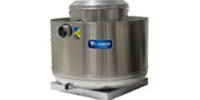 "Canarm Ltd. brand Model A2X Direct Drive Centrifugal Up Blast Roof or Sidewall Mount Exhaust Fan Restaurant & Gen. Applic. CFM Range: 1,043-3,010 @ 1/2"" S.P."