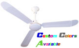 "Model #L-136-R Commercial Ceiling Fan (36"" Reversible, 10,700 CFM, 5 Yr Warranty, 120V)"