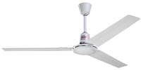 "Northwest Envirofan Model #60C-9 White Commercial Variable Speed Ceiling Fan (56"" Reversible, 27,500 CFM, 3 Yr Warranty, 120V)"