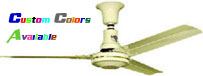 "Model #S-560-277 Agricultural Ceiling Fan (60"" Reversible, 46,000 CFM, 6 Yr Warranty, 277V) $192.25"