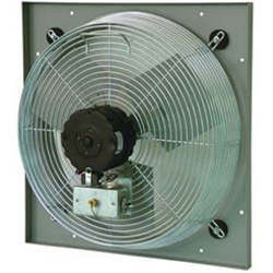"TPI Corporation brand Model CE (Two or Three Speed) Venturi Mount Direct Drive Wall Exhaust Fan CFM Range: 1325 - 7900 (Sizes 10"" thru 30"")"
