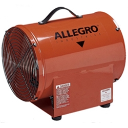 "12"" Allegro Electric High Output Confined Space Axial Blower (1/2 Hp, 2202 CFM @ Outlet)"