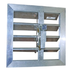 "Canarm Ltd. brand Motorized Fresh Air Industrial Intake Damper (12"" to 60"")"