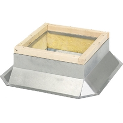 Soler & Palau USA brand Roof Mounting Curb for STXB Exhaust Fans