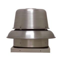 Soler & Palau USA brand Model RED Direct Drive Centrifugal Down Blast Roof Exhaust Fan Gen. Application CFM Range: 224-2,742