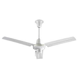 Heavy duty ul listed industrial reversible ceiling fans ves model inda563s3l white heavy duty commercial ceiling fan 56 downflow 25000168009600 cfm 5 year warranty 120v 3 speed pull chain aloadofball Gallery